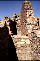 Chaco Canyon Ruins; New Mexico